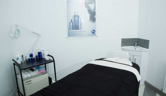 A Treatment Room at VL Aesthetics