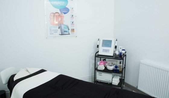 A Treatment Room at VL Aesthetics in Carlisle (Cumbria)