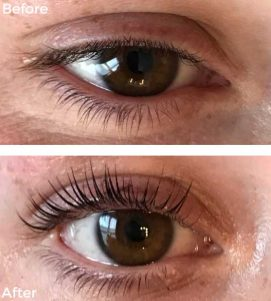 LVL Lashes at VL Aesthetics