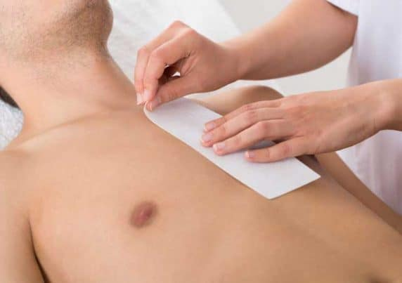 Male Chest Waxing at VL Aesthetics